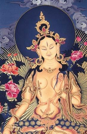 White Tara by a Buddhist Monk