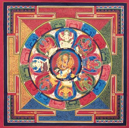 Aushtha Matika Art from Tibet