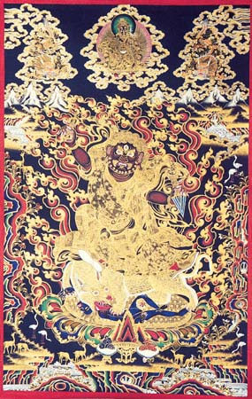 Bhairab by a Tibetan Buddhism Monk