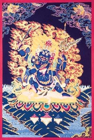 Sixarms Mahakala Buddhism Art