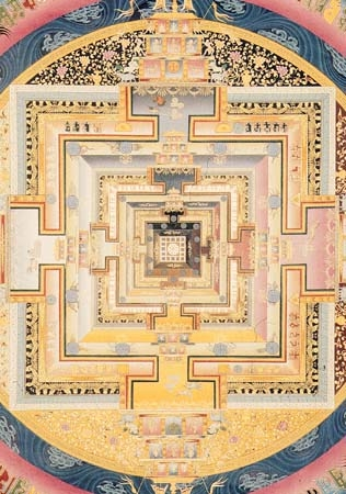 Kalachakra Buddhist Art from Tibet