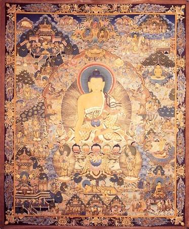 Buddha's life story in art