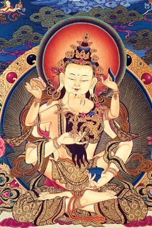 Vazara Satva Tibetan Artwork